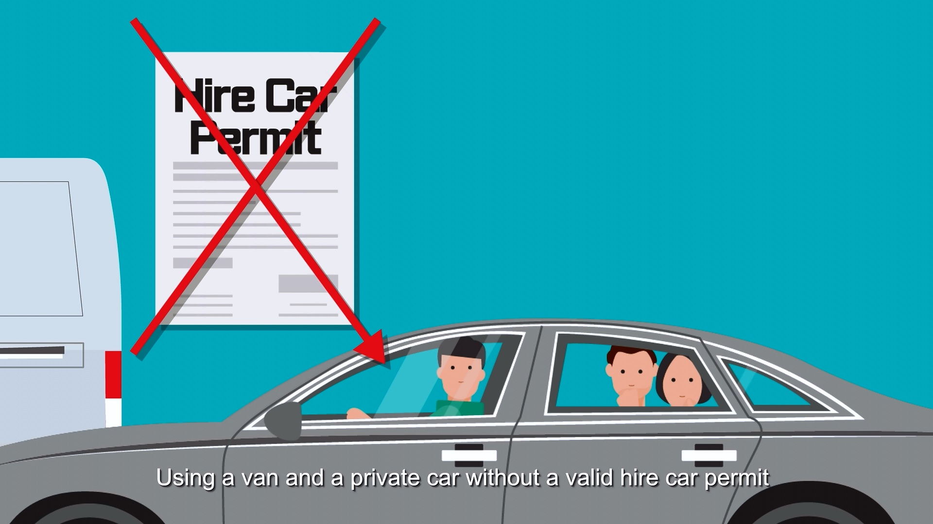 Hire Car Vidoe Screen Cap